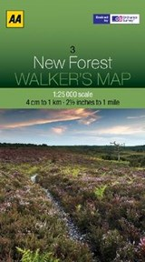 Walker's Map 03 New Forest 1 : |  |