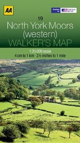 Walker's Map 19 North York Moors 1 : | auteur onbekend |