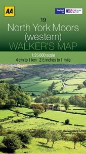 Walker's Map 19 North York Moors 1 :