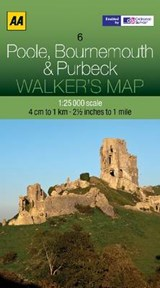 Walker's Map 06 Poole, Bournemouth 1 : |  |