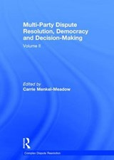 Multi-Party Dispute Resolution, Democracy and Decision-Making |  |