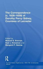 The Correspondence C.1626-1659 of Dorothy Percy Sidney, Countess of Leicester