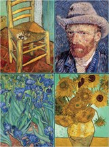 Set of Four Magnetic Notepads: Van Gogh |  |