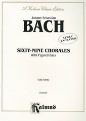 Sixty-Nine Chorales with Figured Bass |  |