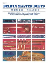 Belwin Master Duets Trombone, Advanced