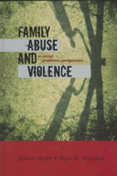 Family Abuse and Violence | JoAnn Miller |