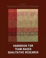 Handbook for Team-Based Qualitative Research | auteur onbekend |