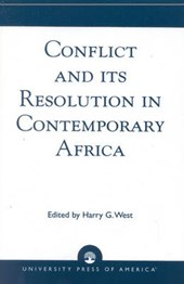Conflict and Its Resolution in Contemporary Africa