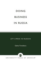 Doing Business in Russia | Galina Timofeeva |