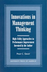 Innovations in Management Thinking | Philip C. Grant |