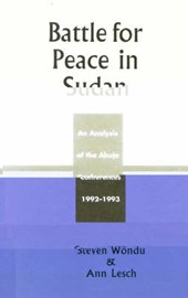 Battle for Peace in Sudan