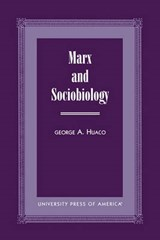 Marx and Sociobiology | George A. Huaco |