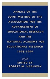 Annals of the Joint Meeting of the Association for the Advancement of Educational Research and the National Academy for Educational Research 1998-1999 |  |