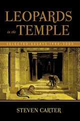 Leopards in the Temple | Steven Carter |