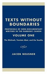 Texts Without Boundaries | Jacob Neusner |