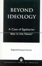 Beyond Ideology | Reginald Estoque Ecarma |