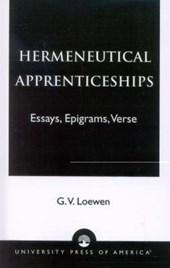 Hermeneutical Apprenticeships
