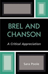 Brel and Chanson | Sara Poole |