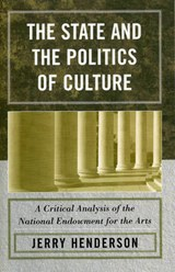The State and the Politics of Culture | Jerry Henderson |