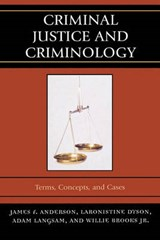 Criminal Justice and Criminology | James F. Anderson |
