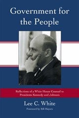 Government for the People | Lee C. White |