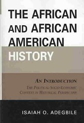 The African and African American History | Isaiah Adegbile |