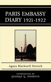 Paris Embassy Diary 1921-1922