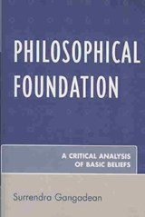 Philosophical Foundation | Surrendra Gangadean |