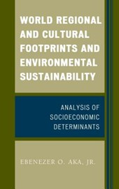 World Regional and Cultural Footprints and Environmental Sustainability