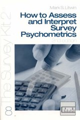 How to Access and Interpret Survey Psychometrics | Mark S. Litwin |
