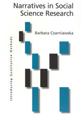 Narratives in Social Science Research | Barbara Czarniawska |