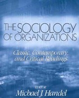 The Sociology of Organizations | auteur onbekend |