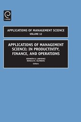 Applications of Management Science |  |