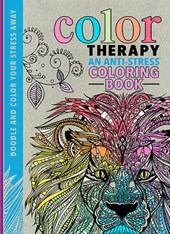 Color Therapy Adult Coloring Book
