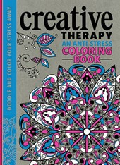 Creative Therapy Adult Coloring Book