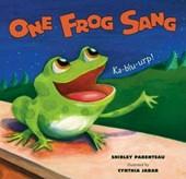 One Frog Sang