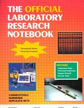 The Official Laboratory Research Notebook