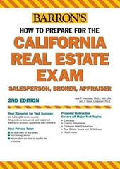 Barron's How to Prepare for the California Real Estate Examinations