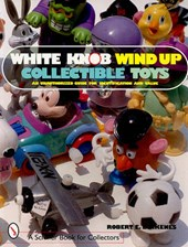 White Knob Wind Up Collectible Toys