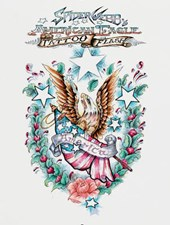 Spider Webb's American Eagle Tattoo Flash