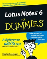 Lotus Notes 6 For Dummies | Stephen Londergan |
