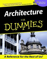 Architecture For Dummies | Deborah K. Dietsch |