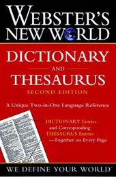 Webster's New World Dictionary and Thesaurus