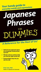 Japanese Phrases For Dummies | Eriko Sato |