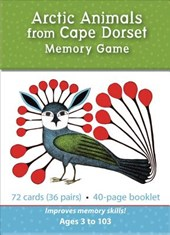 Arctic Animals from Cape Dorset Memory Game Mg009