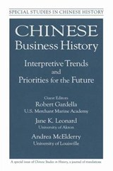 Chinese Business History | Robert Gardella; Andrea McElderry; Jane K. Leonard |
