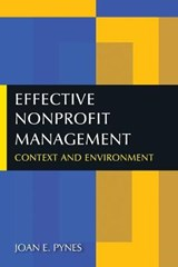 Effective Nonprofit Management | Joan E. Pynes |