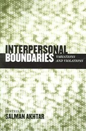 Interpersonal Boundaries