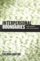 Interpersonal Boundaries |  |