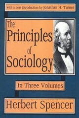 The Principles of Sociology/3 Volumes Bound in 4 Books | Herbert Spencer |